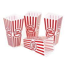 4pk Plastic Reusable Movie Theater Style Popcorn Container Set Serving Bowls  - $7.69+