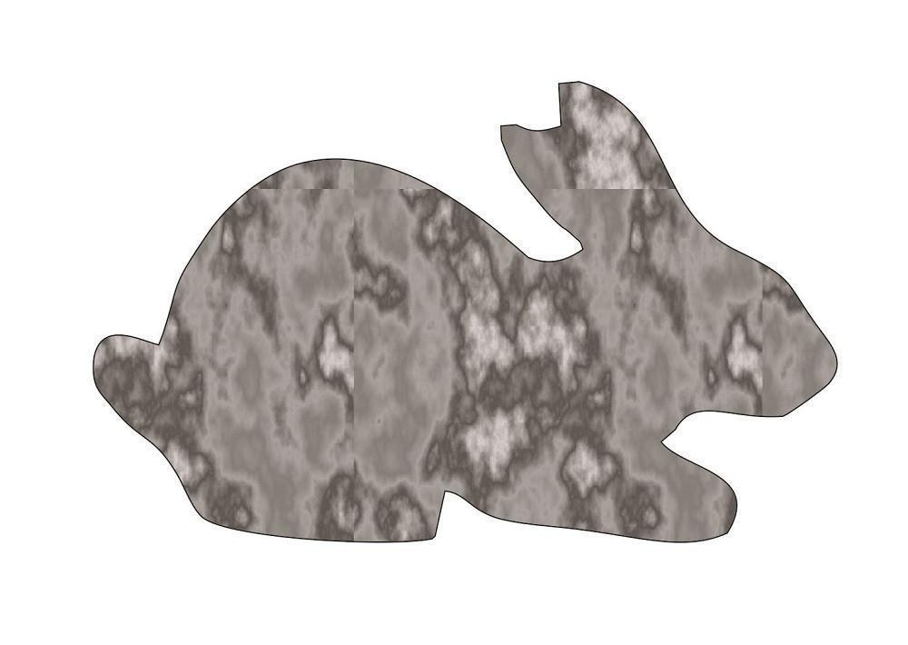 Bunny Rabbit - Plasma Cut Metal Shape BNY27-M