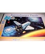 Ravenburger Super 100 Piece Jigsaw Puzzle USA Space Shuttle Flight Unive... - $24.74