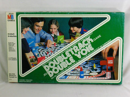 Doubletrack 1981 Board Game Milton Bradley 100% Complete Excellent Bilingual - $7.35