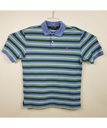 Polo Golf Ralph Lauren Mens Polo Shirt L Large Pro Fit Blue Green White ... - £14.18 GBP