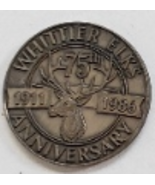 Whittier Elks Lodge #1258 75th Anniversary 1911-1986 Commemorative Coin/... - $6.95