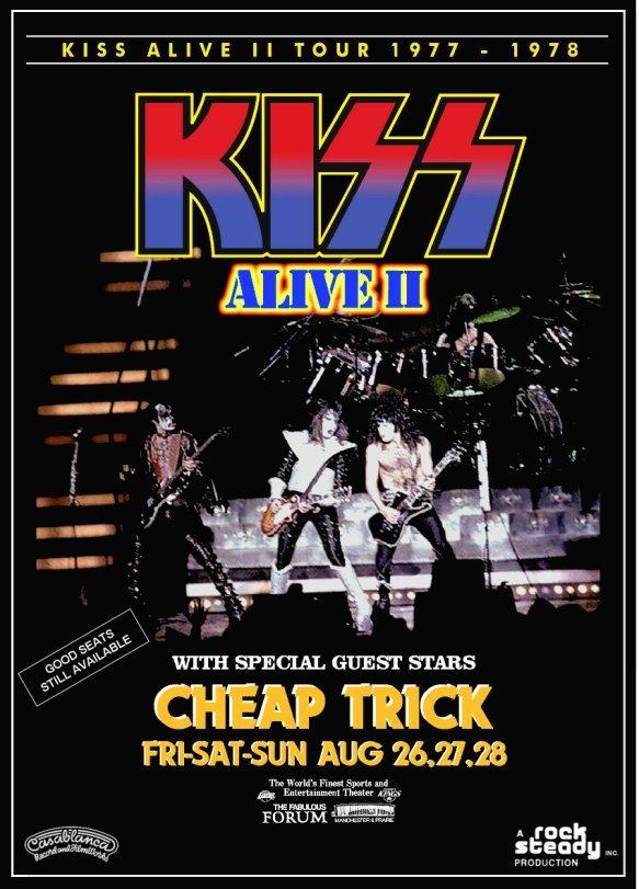 Kiss   alive ii forum w cheap trick