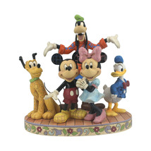 """10.83"""" """"The Gang's All Herel """" Goofy, Pluto, Donald Duck, Mickey & Minnie Mouse image 2"""