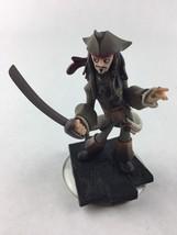 Disney Infinity Captain Captain Jack Sparrow Figure Pirates of the Carib... - $6.92