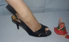 Touch of Nina Slinback Heels Black Size 8M - $19.75