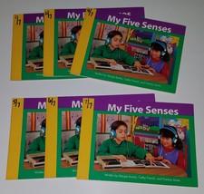 My Five Senses 6 PBK Book Lot Duplicates Teacher Classroom Library Health - $14.46