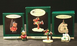 Hallmark Handcrafted Ornaments AA-191774F Collectible  ( 3 pieces ) - $49.95