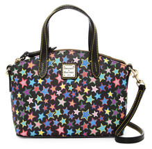New Dooney & Bourke Black Stars Print Ruby Mini... - $139.60