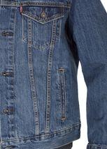 Levi's Men's Cotton Button Up Denim Jeans Trucker Jacket Shelf Blue 723340136 image 4