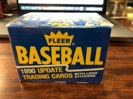 1990 Fleer Baseball Card Traded Update Set (SEALED) - $6.12