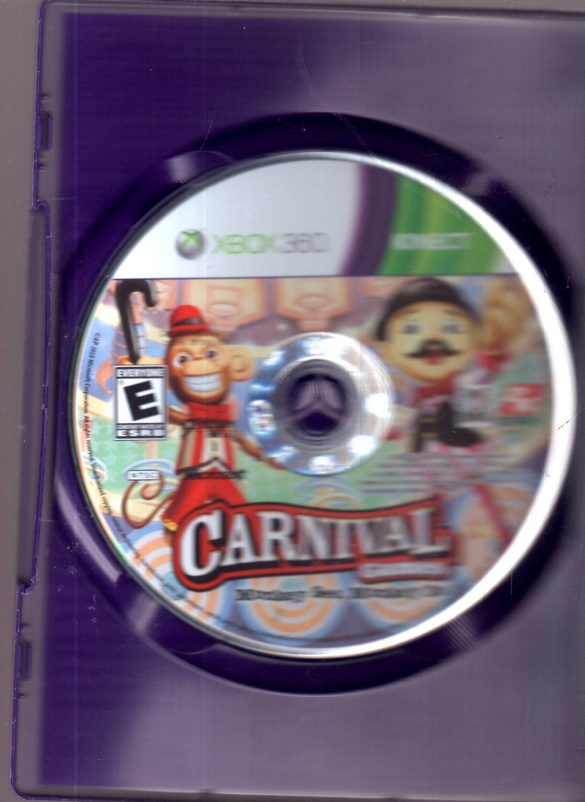 XBOX 360 -KINECT - Carnival Games