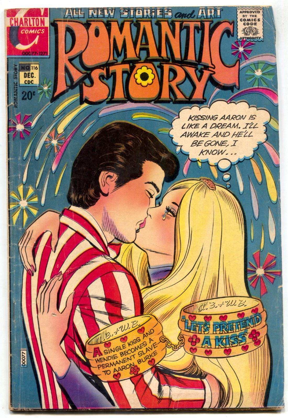 Primary image for Romantic Story #116 1971- Charlton Romance Comics VG