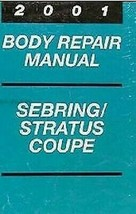 2001 Chrysler Sebring & Stratus Body Service Shop Reparatur Manuell Ergä... - $16.00