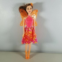 Barbie and the Secret Door Nori Fairy Doll Brown Hair Butterfly Skirt & ... - $18.99