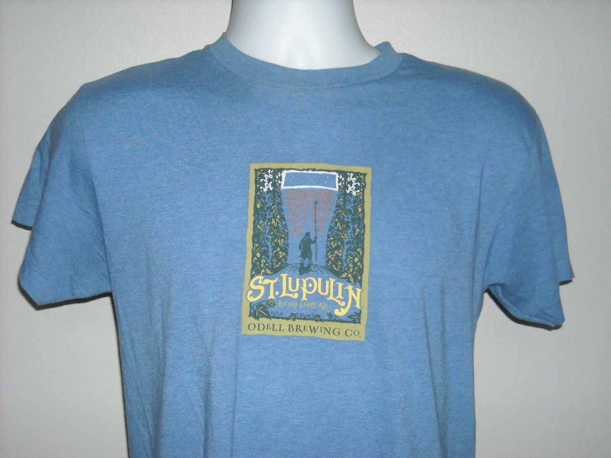 a17156f6 American Apparel Polo. In stock S l1600. WOMENS ODELL BREWING CO T SHIRT  SMALL ST LUPULIN IPA BEER - $17.38