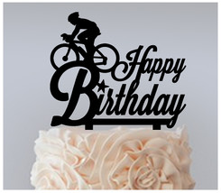 Decorations Birthday Cake topper,Cupcake topper,bicycle man style : 11 pcs - $20.00