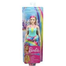 "Barbie Dreamtopia 12"" Princess Doll, Curvy Blonde with Pink Hairstreak - $9.99"