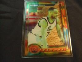 1993-94 Topps Finest  #56 Michael Adams -Washington Bullets- - $3.12