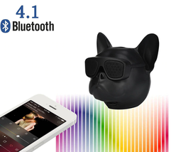 Mini Dog Portable Wireless Bluetooth Speaker Outdoor Loudspeaker - $35.67 CAD