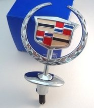 Factory Gm Cadillac Deville Hood Ornament Chrome - $98.99