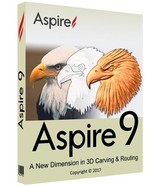 Vectric Aspire 9 with Cliparts (32-bit & 64-bit) | Software - FAST DELIVERY - $54.99