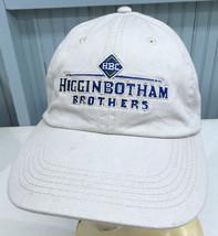 Higginbotham Brothers Inc. Contruction Strapback Baseball Cap Hat - $13.75