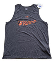 Under Armour Baltimore Orioles Men's Tank Top Size 2XL Gray New! Heat Ge... - $21.78