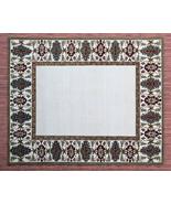 C & B Bordered Parsian Style Handmade Loop Tufted 100% Woolen Rugs & Car... - $216.81+