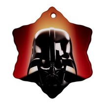 Star Wars Darth Vader Procelain Ornaments (Snowflake) Christmas - $6.99