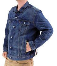 Levi's Men's Premium Button Up Denim Jeans Jacket Two Color 723350009 image 4