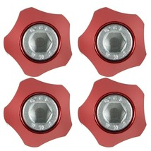 License Plate Bolt, Metal License Plate Bolt, Security Red License Plate... - $10.99