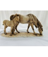 "Guido Cacciapuoti Ceramic Horses Group 16"" Limited - Numbered - $539.55"