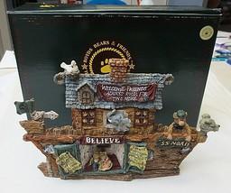 Boyds Bearstones #2450 SS Noah - The Ark Resin Figure - $19.75