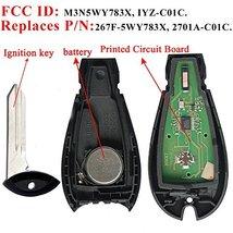 Key Fob Compatible for 2008-2010 Chrysler 300 2008-2012 Dodge Challenger 2008-20 image 3