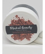 Masked Beauty Toning Red Clay Mask Rinse-Off Clay Facial Mask for Cleansing - $15.29