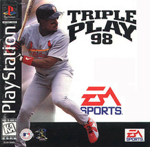 Triple Play 98 Playstation PS1  Complete CIB - $7.75