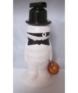Bath & Body Works Halloween Mummy Glittery Pumpkin Foaming Soap Dispenser - $39.99