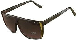 Quay 1239 Chocolate Brown Gold Crystal accented Australian Sunglasses NEW image 2