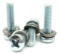 New Screws To Attach The Base Stand Feet Legs To Bottom Of LG TV Model  79UF7700 - $6.19