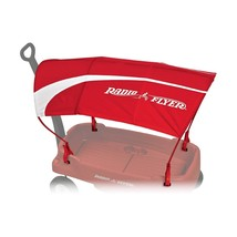 Radio Flyer UV Protection Canopy - Wagon Accessory Red New - $52.61