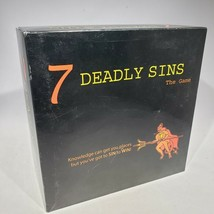 7 Deadly Sins The Game Adult Party Board Game 2003 Kheper Games Complete - $13.95