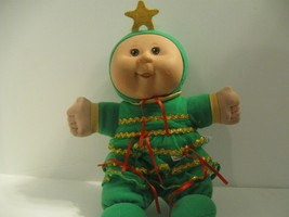 CPK Cabbage Patch Kids Christmas Tree Doll Cuddly Soft 2007 Baby's First... - $11.29
