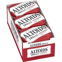 Altoids Smalls Peppermint Sugarfree Mints, 0.37 Ounce, 9 Count - $12.49