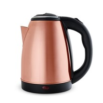 Tea Kettle, Modern Insulated Portable Travel Electric Rose Gold Tea Kettle - €33,31 EUR