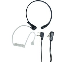 Midland AVPH8 2-Way Radio Accessory (Acoustic Throat Microphone for GMRS... - $44.58