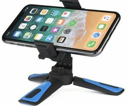 Mini Tripod Camera Smartphone Holder Iphone Xiaomi Huawei Phone Stand Mo... - $7.65