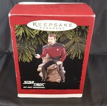 Star Trek Commander William T Riker Hallmark Keepsake Christmas Ornament... - $14.99