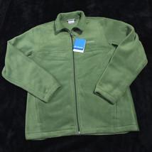 COLUMBIA Mens Rogue Basin Exs Full Zip COAT JACKET Fleece Size Medium NWT  - $56.87