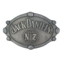 Jack Daniels Oval Belt Buckle Metallic - $19.98